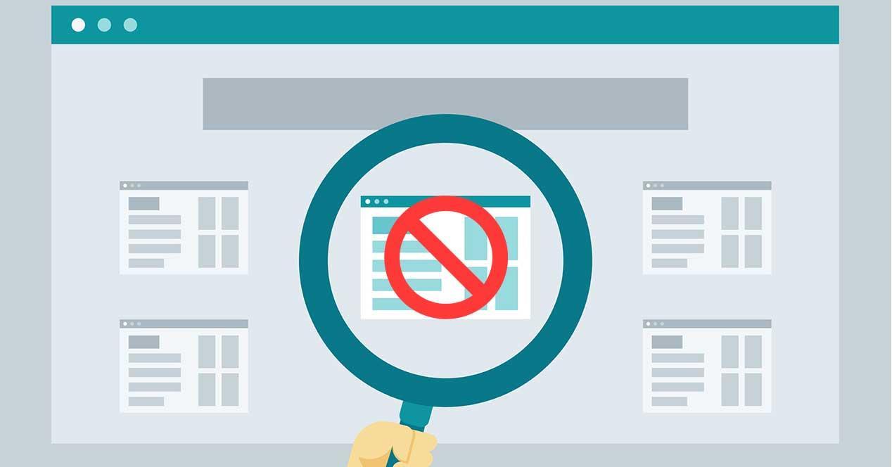 bloquear pagina web
