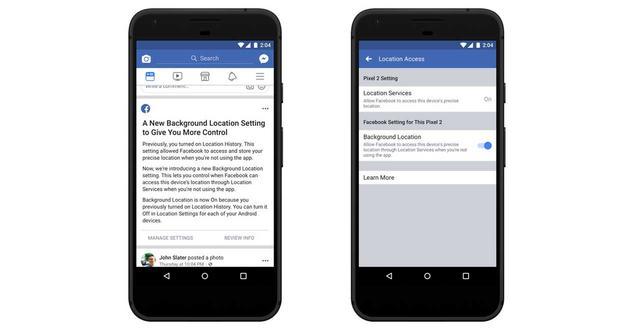 facebook ubicacion android