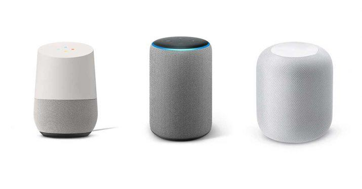 google home vs amazon echo vs apple homepod