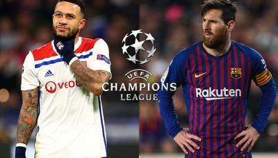 Cómo ver en directo el Lyon – Barcelona de Champions por televisión, Internet o el móvil