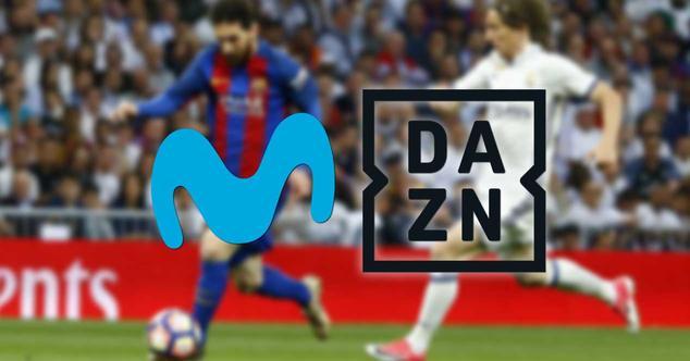 Ver noticia 'Ya se está estudiando el precio que DAZN debería pagar a Movistar por LaLiga y la Champions'