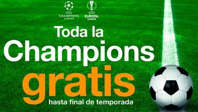 Orange responde a Movistar y también ofrecerá Champions League gratis hasta final de temporada