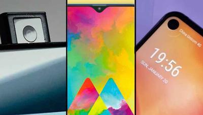 Notch, perforaciones y cámaras retráctiles: Samsung va a diferenciar sus gamas también por el diseño