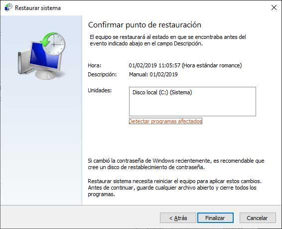 recuperar Windows 10