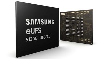 Samsung anuncia sus memorias UFS 3.0 de 512 GB para móviles: cuatro veces más rápidas que un SSD