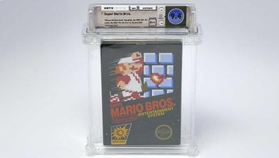 Este Super Mario Bros. de NES sin abrir se ha convertido en el juego más caro jamás vendido