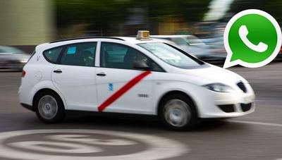 Pedir Taxi por WhatsApp ya es posible: así quieren luchar contra Uber