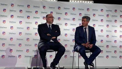 Telefónica se une al Atlético de Madrid como socio tecnológico y patrocinador