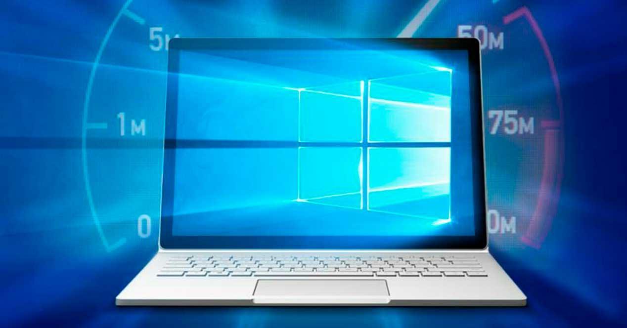 velocidad inicio de windows 10