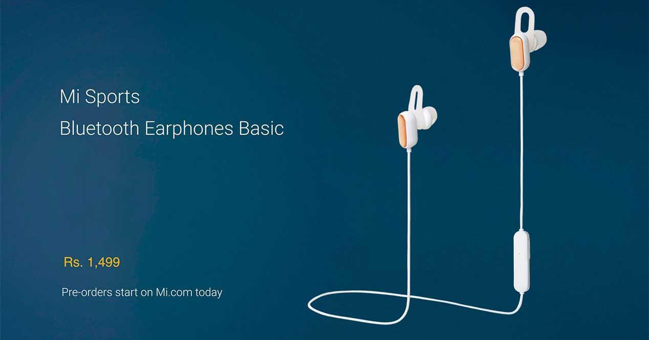 2019 Nueva llegada Xiaomi deporte auricular Bluetooth