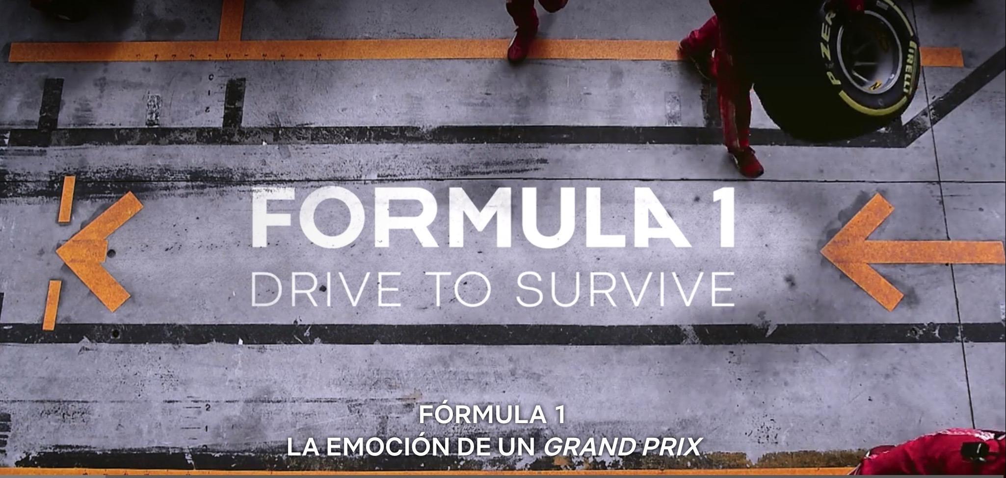 Fórmula 1 la emoción de un Grand Prix