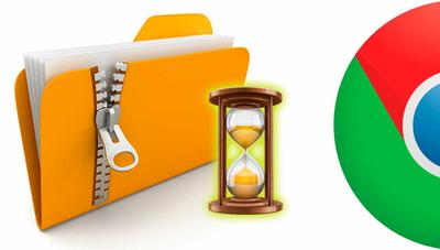 Google Chrome soluciona un problema que demoraba la apertura de archivos ZIP hasta 15 minutos
