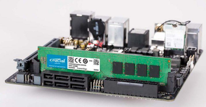 máximo de memoria RAM