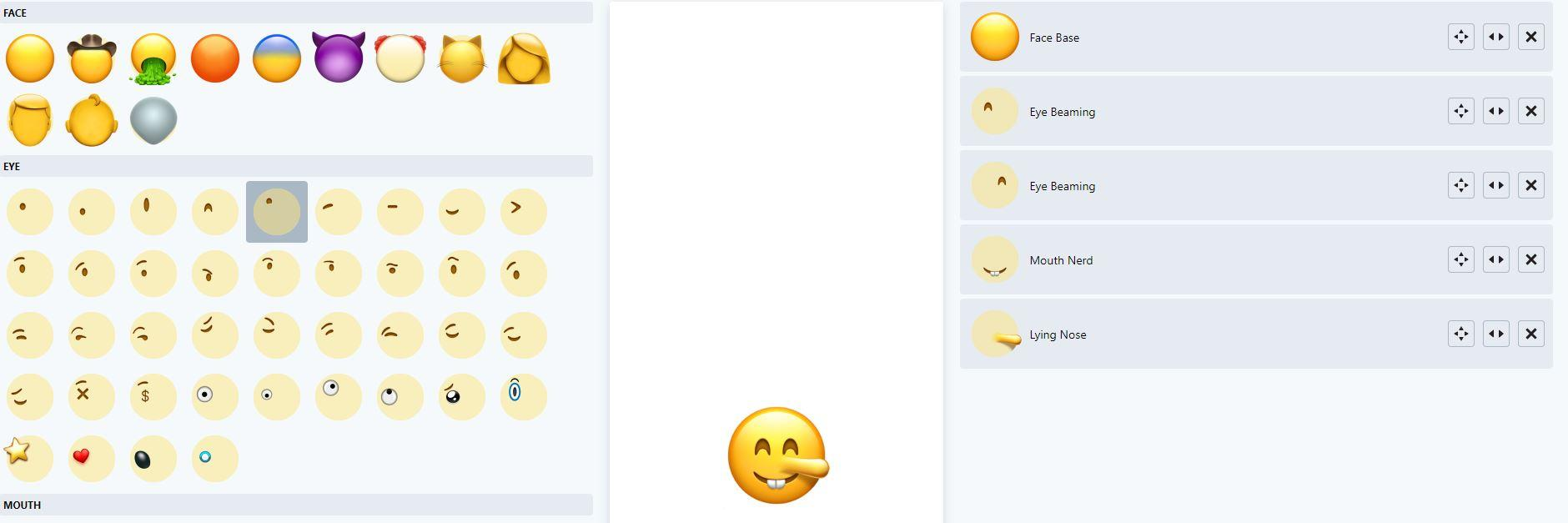 Crear tus propios emoji online: editor de emojis, emoticonos