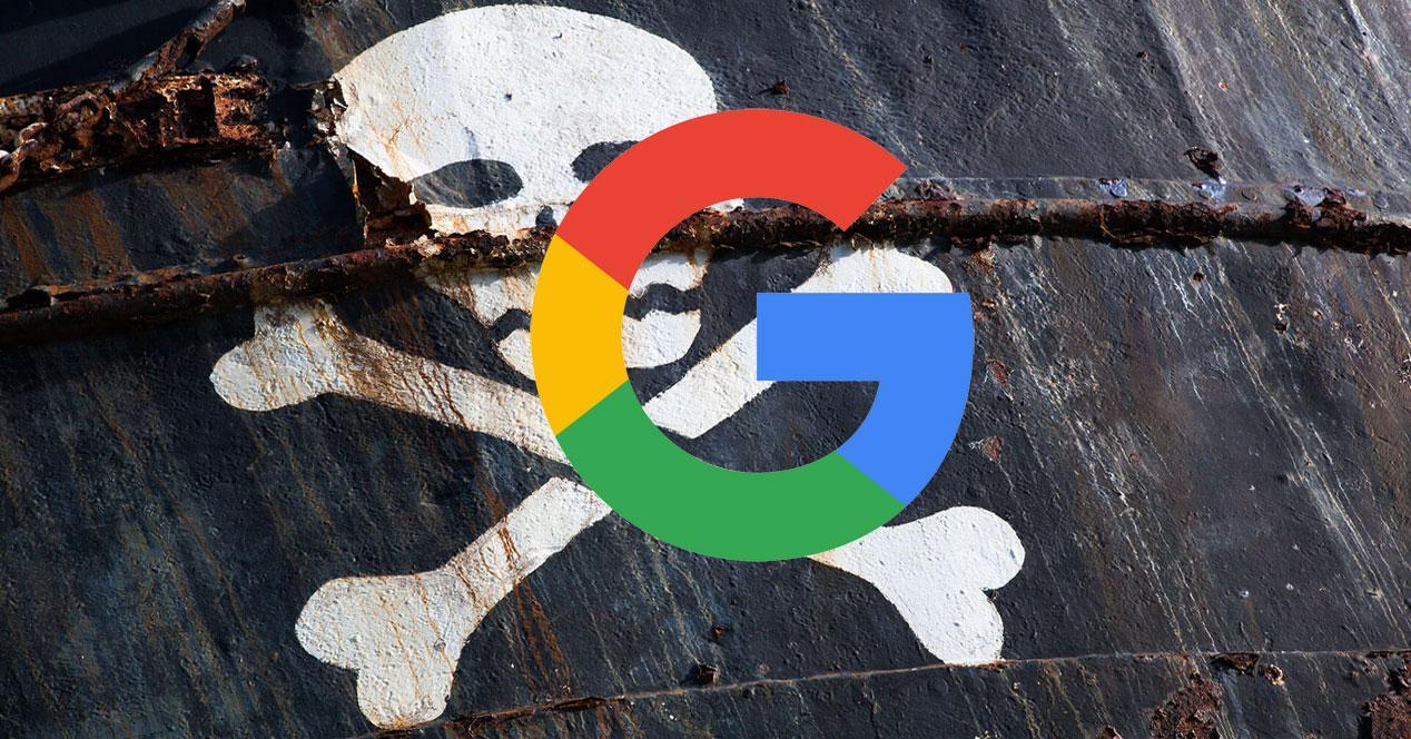 Google piratería