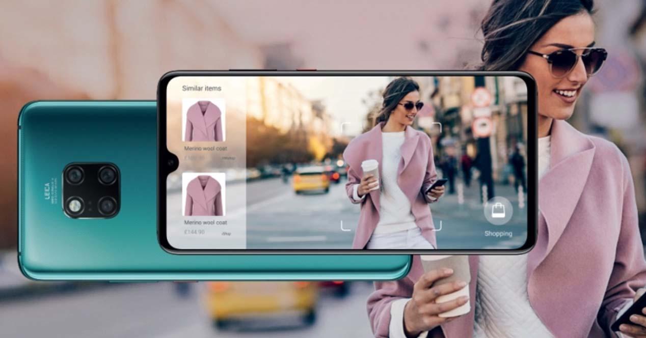 Ver noticia 'Noticia 'La IA del Huawei Mate 20 Pro te dice dónde comprar un objeto que has fotografiado''