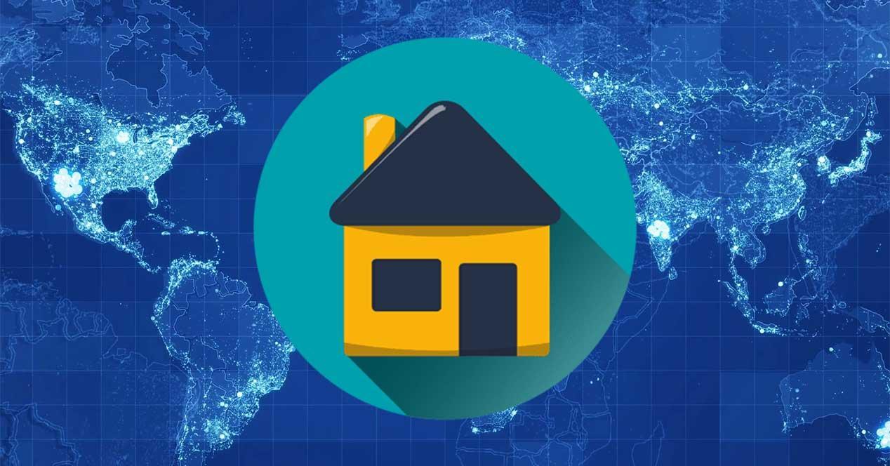 localizar casa dirección IP
