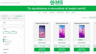 Llega Mapache Gurú, el comparador definitivo para encontrar móvil al mejor precio