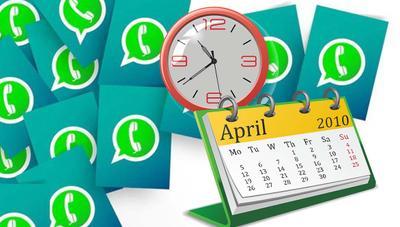 Cómo programar el envío automático de mensajes de WhatsApp para felicitar a tus familiares y amigos