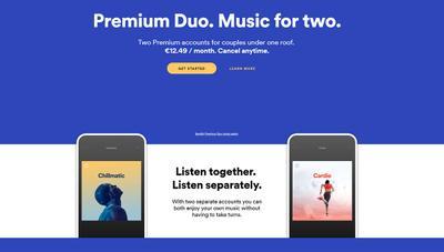 Spotify Premium Duo: nuevas cuentas baratas compartidas para dos
