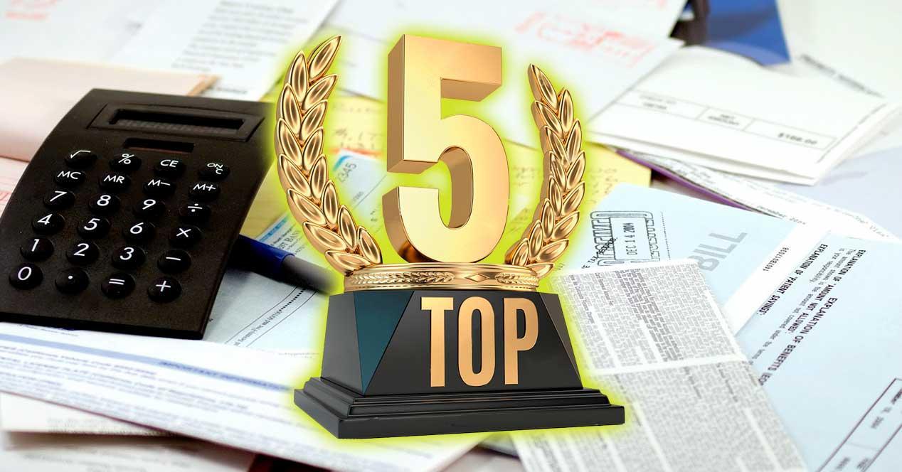 top 5 fibra barata