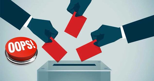 voto erroneo articulo 13 oops