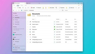 El nuevo Explorador de archivos para Windows 10, en camino con Fluent Design