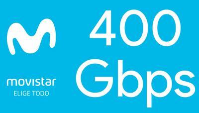 Movistar se prepara para ofrecer más velocidad y prueba 400 Gbps en su fibra