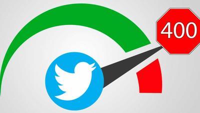 ¿Por qué no puedes seguir a más de 400 personas al día en Twitter?