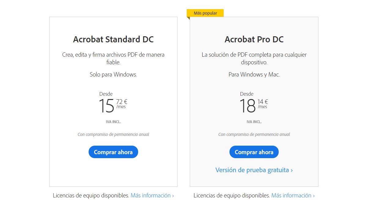 Adobe Acrobat Editar u PDF