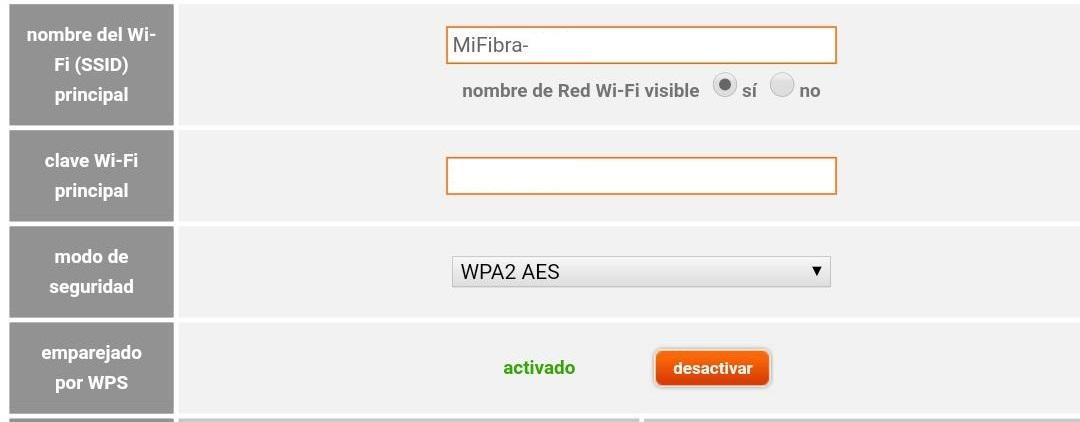 Configurar el WiFi