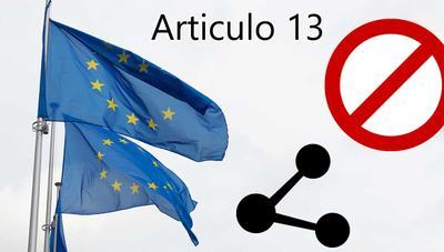Aprobado el artículo 13 en su votación final por parte de los países miembros: ya no hay salvación