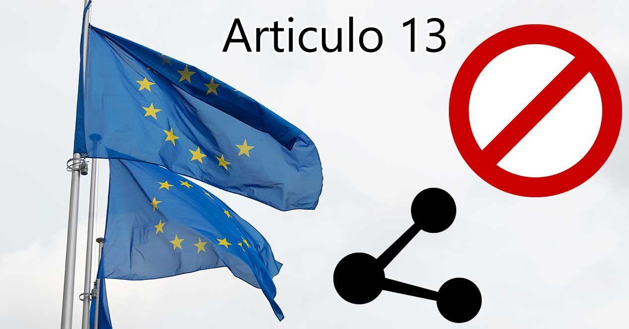 artículo 13 ue