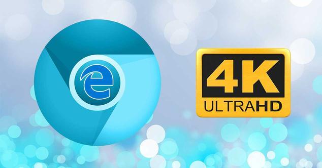 chromium edge 4k