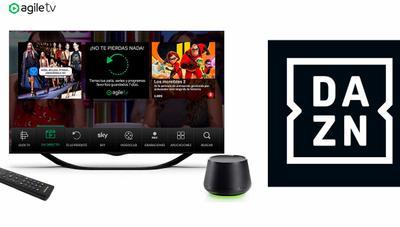DAZN se integra en Agile TV, la tele de Yoigo