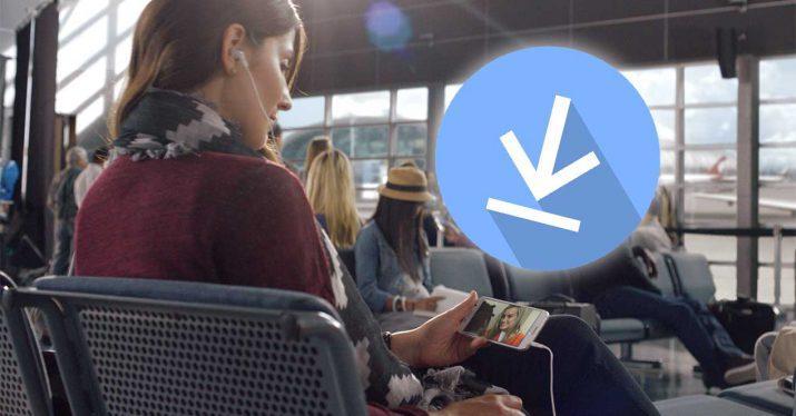 descargar ver sin conexion