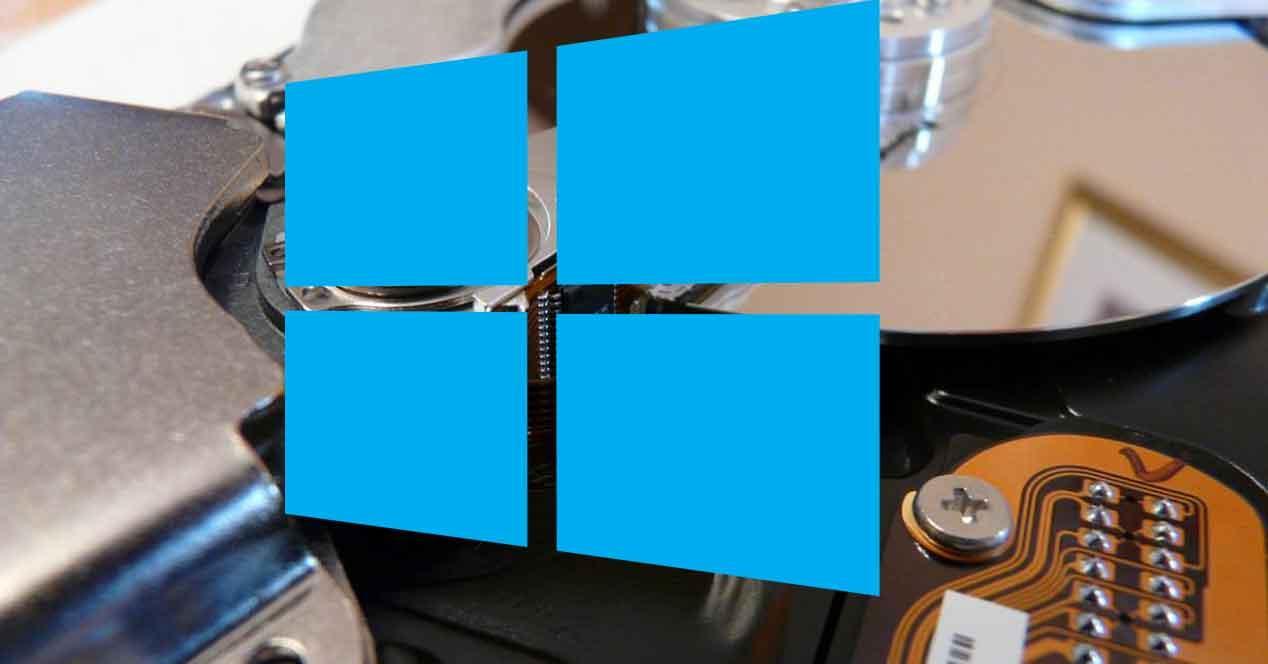 Espacio disco Windows 10