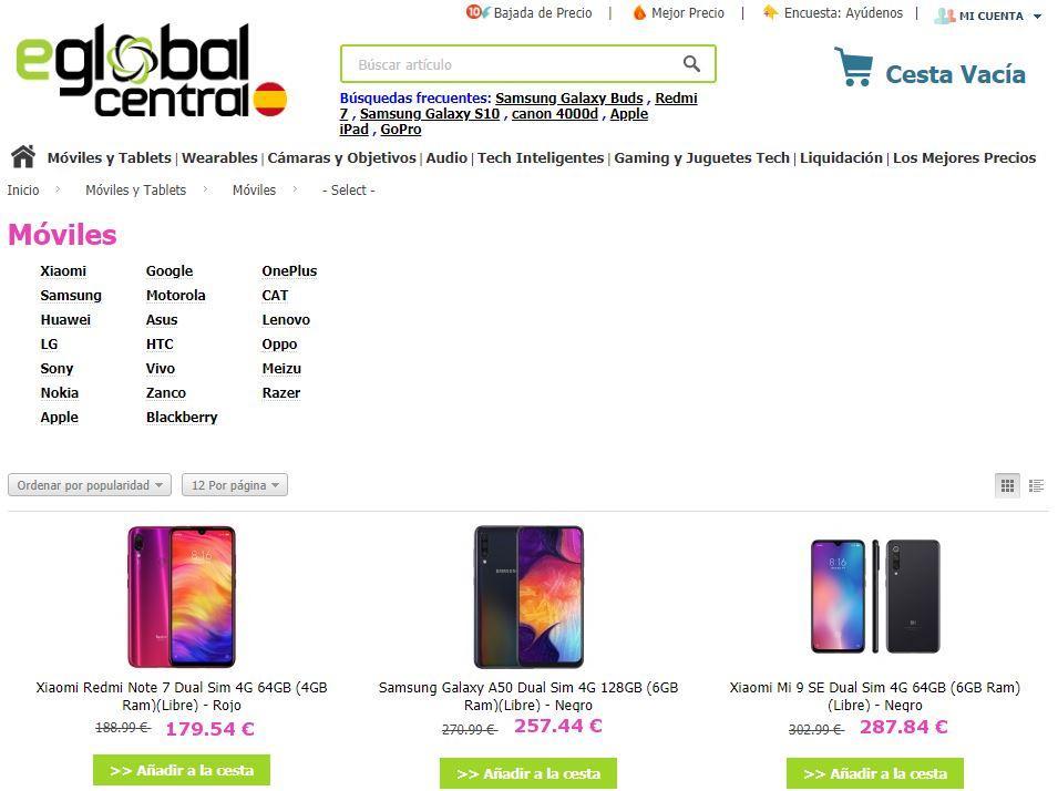 Mejores Comprar Baratos Para Móviles Webs PkuOiXZ