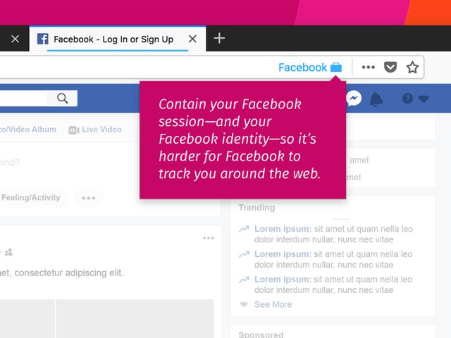 Extensiones para Firefox - Facebook