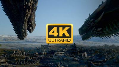 Por qué no puedes ver Juego de Tronos en 4K, y lo que verás en el futuro tampoco lo será