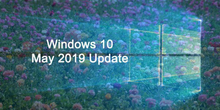 Windows 10 Mayo 2019