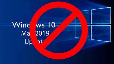¿Quieres bloquear la descarga de Windows 10 May 2019 Update?, así lo lograrás en pocos segundos