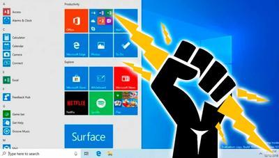 El menú de Inicio será más rápido y estable en Windows 10 May 2019 Update