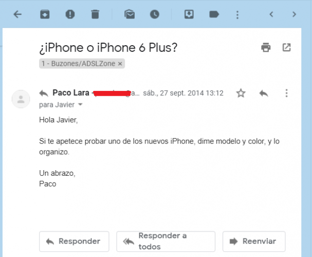 Email Paco Lara