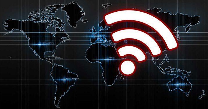 red wifi mundo