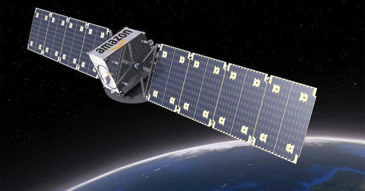 satelite espacio internet amazon project kuiper