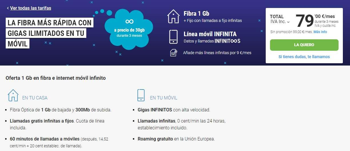 Yoigo gigas infinitos vs Vodafone One ilimitada