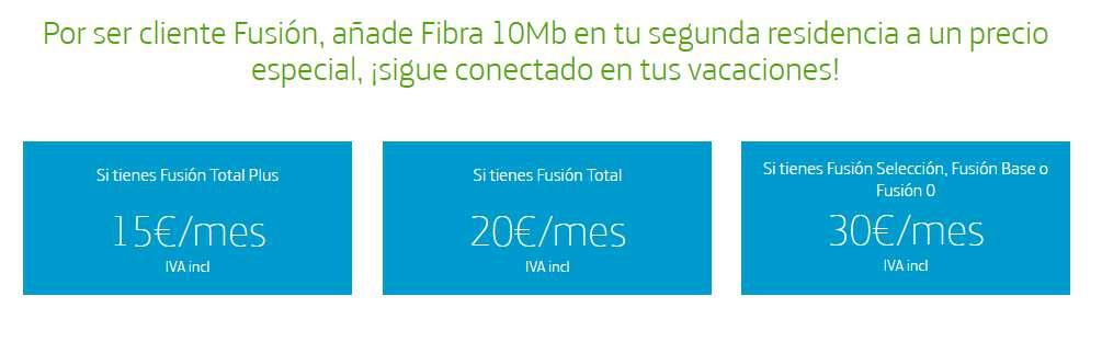 Internet Segunda Residencia de Movistar