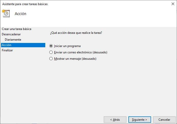 apagado automático Windows 10