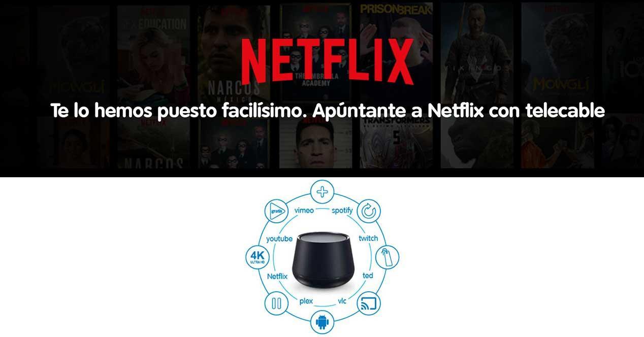 telecable netflix tedi 4k 2019